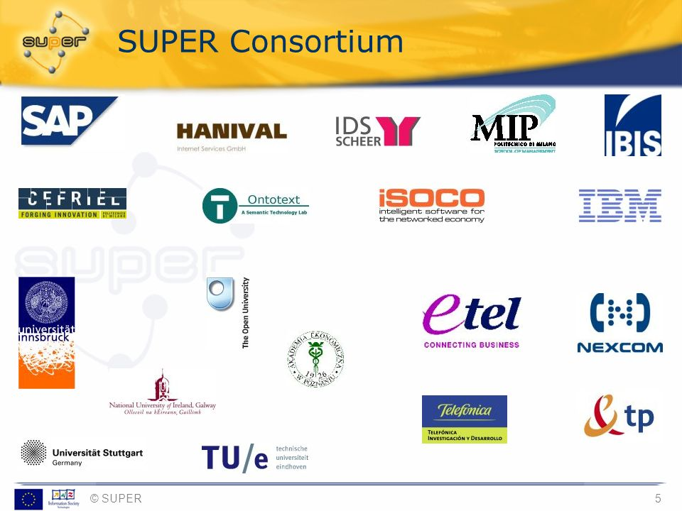 SUPER Consortium [provided by Sebastian]